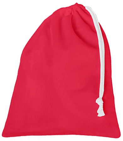 Slipper Bag Canvas Paprika Red